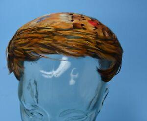 Ladies vintage hat Coquette/Casque FEATHERS