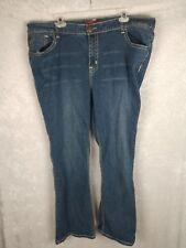 acf28809e2c zanadi sz 22 Womens Flap Pocket Bootcut Denim jeans Stretch