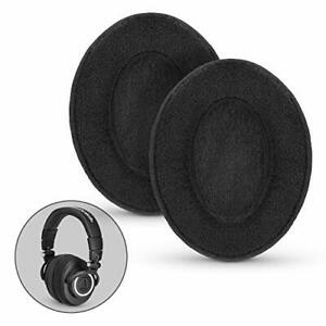 BRAINWAVZ Velor Replacements Ear Pads - for ATH-M50X SHURE AKG HifiMan ATH Ph...