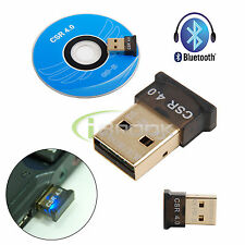 Bluetooth 4.0 USB 2.0 CSR 4.0 Dongle Adapter for PC LAPTOP WIN XP VISTA 7/8/10