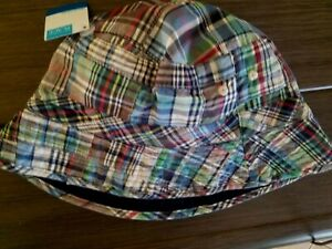 NWT Children's Place Boys/Girls Reversible Bucket Hat Size 10-14 yrs