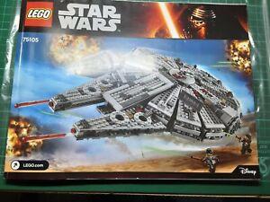 Star Wars Millenium Falcon 75105 very good condition