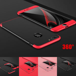 Shockproof Hybrid 360 Hard Case Cover For Apple iPhone X XS Max XR 6S 6 7 8 Plus