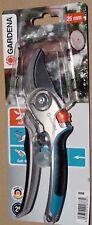 GARDENA Gartenschere 8906 -20, B/L Alu Bypass-Schere 25mm, Komfort -Griffe OVP!
