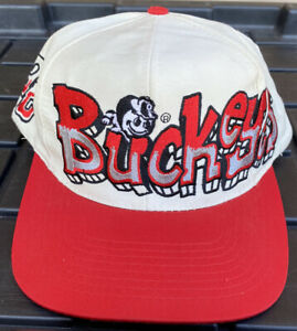 NWOT Vintage Ohio State Buckeyes Top Of The World TOW Graffiti SnapBack Hat Cap