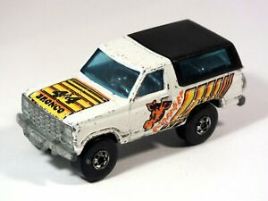 HOT WHEELS Bronco 4-wheeler 1982 Geoffrey Toys R us   VHTF