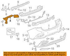 Chevrolet GM OEM 16-18 Cruze Rear Bumper-Side Support Left 84142839