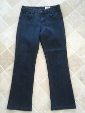 WOMENS JAG JEANS, SIZE 13, BLUE, HIGH RISE REG FIT BOOT CUT, COTTON/POLY #1143