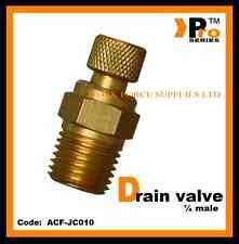 """Compresor De Aire Válvula de drenaje 1/4"""" BSP Macho-línea de aire Accesorios-Válvula"""