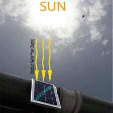 Solar Compact DC LED Street light Outdoor Light.