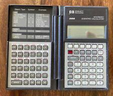 Vintage HP 28S Programmable Scientific Calculator Tested Working