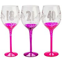 Birthday Wine Glasses Glass 18th 21st 40th Extra Large Giant Jumbo Gift Party