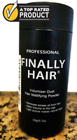 Finally Hair Volumizer Dust It Mattifying Powder Add Volume To Your Hair .7 oz