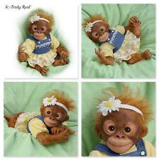 Ashton Drake Darling Daisy Baby Orangutan Poseable Monkey