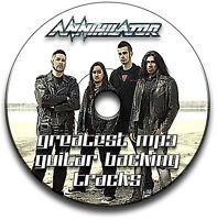 36 ANNIHILATOR HEAVY METAL THRASH ROCK STYLE GUITAR MP3 BACKING TRACKS CD