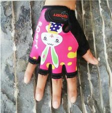 Half Finger Breathable Outdoor Road Bicycle Fashion Gloves For Kids Wrist Length