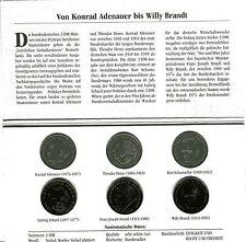 2 Dm Münzen Der Brd Mit W Brandt Ab 1994 Günstig Kaufen Ebay
