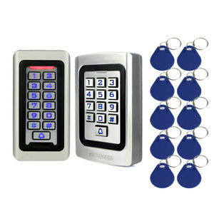 RFID EM Card Standalone Access Controller Keypad for Door-Entry-System Apartment