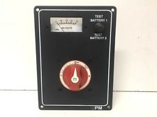 NEW Ultra Panel Marine Battery Selector Switch w/ Red Knob (19-690-1698) Marine
