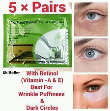 5×pcs With Retinol Collagen Crystal Vitamin-A & E Eye Lifting Anti-Wrinkle Mask