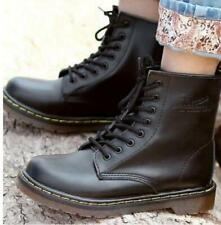 Men's Boots Leather Women's Winter Ankle Boots Shoes Lace Up Short leather boots