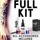 Easy.ink? Freehand Temporary Tattoo Ink kit,SUPER DARK INK,pure Jagua,NOT Henna
