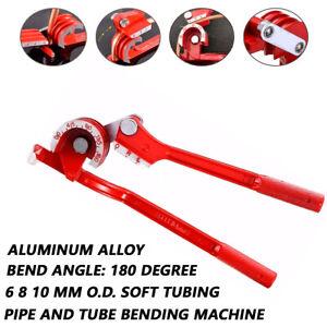 1X Tube Bender Tubing Hose Brake Fuel Line Plier 6mm 8mm 10mm Pipe Bending Tool