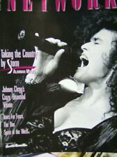 Network Entertainment Canadian Magazine April / May 1990 Alannah Myles/Tears For