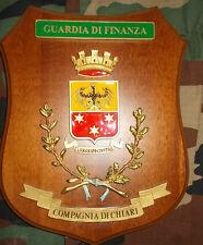CREST GUARDIA DI FINANZA COMPAGNIA DI CHIARI RARITA'!!!