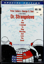 New listing Dr. Strangelove (Dvd, 2001) Peter Sellers, George C. Scott (new, sealed)