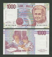 ITALY  1000 lire  1990  P114c  Uncirculated  Banknotes