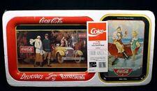 NEW 1988 COCA COLA 4 TRAY SET BY OHIO ART