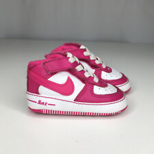 Nike Baby Air Force 1 Infant 2C Girls Pink White #325315-100 2012
