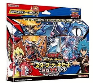 Yu-Gi-Oh Card Rush Duel Starter Deck Set Yuga VS Luke KONAMI Japanese Anime New