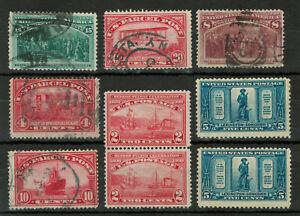 United States High Cat. Value Lot of 9 Stamps #4416