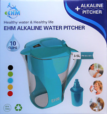 EHM Alkaline Mineral Water Ionizer Pitcher 3.5L Cosmetic