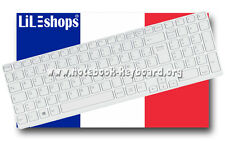 Clavier Français Original Pour Sony Vaio SVE1512H6EW SVE151J11M SVE15J13M