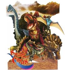Santoro 3D Greetin Swing Cards - Dinosaurs