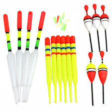 15 pcs Assorted Sizes Fishing Lure Floats Bobbers Slip Drift Tube Indicator New.