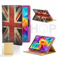 """housse étui à clapet en cuir synthétique pour Galaxy Tab Tablette 4 10.1"""" 8"""" +"""