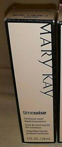 Mary Kay - Timewise - Luminous-wear Liquid Foundation - 1 OZ - Ivory 4