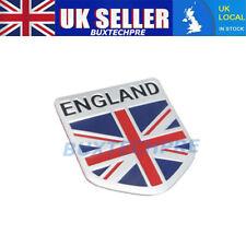 UK Car 3D GB England UK Flag Badge Union Jack Shield Emblem Decals Decor Sticker