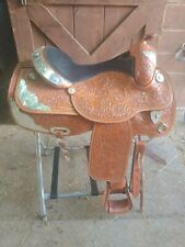 "16"" Corriente Show Saddle"