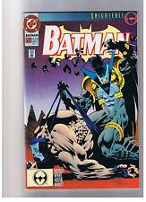 DC COMICS BATMAN #500 OCT 1993 FN KNIGHTFALL SERIES BANE
