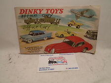 Dinky Toys 7/559/250 great original Catalogue USA 1959 Hudson Dobson