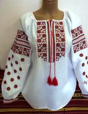 Ukrainian embroidery, embroidered blouse, coton, any colors, XS - 4XL, Ukraine