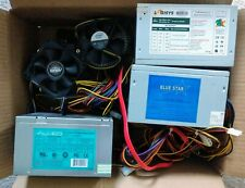 Lot of 3: Power Supply Units and 2 Fans from Intel & Asus - Assorted 450W & 300W