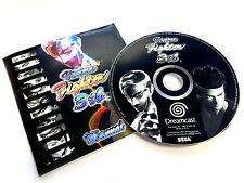 Virtua fighter 3tb vf Sega Dreamcast-disc & manuel seulement-neuf non utilisé au royaume-uni pal