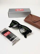 Ray-Ban Wayfarer RB2140 Black Sunglasses 901 50mm - New with tags