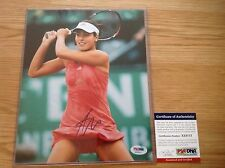 Ana Ivanovic Signed 8x10 Tennis Photo Autographed Auto Serbia PSA DNA COA b
